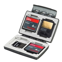 Mac Group Card Safe Extreme Watertight Case for Flash Cards