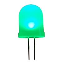 Adafruit Industries Diffused Green 10mm LED - 25 Pack