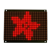Adafruit Industries 16x24 Red LED Matrix Panel - Chainable HT1632C Driver
