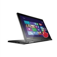 "Lenovo ThinkPad Yoga 12.5"" Convertible Laptop Computer Recertified - Black"