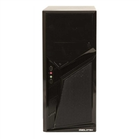 Diablotek Diamond ATX Mid-Tower Computer Case - Black