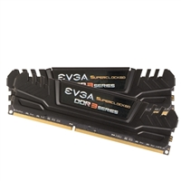 EVGA 16GB DDR3-1600 (PC3-12800) CL 9 Desktop Memory Kit (Two 8GB Memory Modules)
