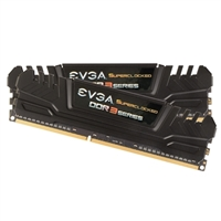 EVGA Superclocked 8GB 2 x 4GB DDR3-1600 PC3-12800 CL9 Dual Channel Desktop Memory Kit