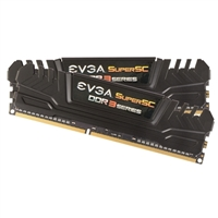 EVGA SuperSC 8GB 2 x 4GB DDR3-2133 PC3-17000 CL10 Dual Channel Desktop Memory Kit