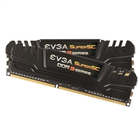 EVGA 8GB DDR3-2400 (PC3-19200) CL11 Desktop Memory Kit (Two 4GB Memory Modules)