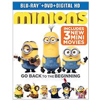 Universal Minions Blu-Ray
