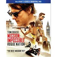 Paramount Mission Impossible Rogue Nation Blu-Ray