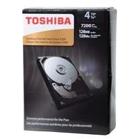 """Toshiba X300 4TB 7,200 RPM SATA III 6Gb/s 3.5"""" Desktop Internal Hard Drive - HDWE140XZSTA"""