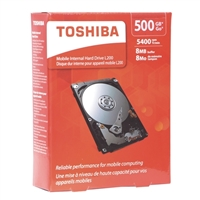 "Toshiba L200 500GB SATA II 3Gb/s 2.5"" Mobile Internal Hard Drive - HDWJ105XZSTA"