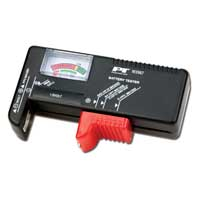 Performance Tools Analog Battery Tester
