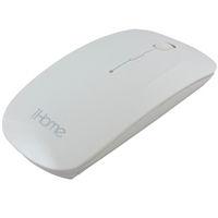 iHome Wireless Optical Mouse Designed For Mac Model IMAC-M210W