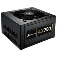 Corsair Professional Series Gold AX750 High Performance 750 Watt Modular ATX Power Supply - Refurbished