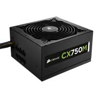 Corsair CX Series CX750 750 Watt 80 Plus Bronze ATX 12V Modular Power Supply Refurbished