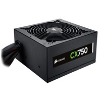 Corsair CX Series CX750 750 Watt 80 Plus Bronze ATX Power Supply Refurbished