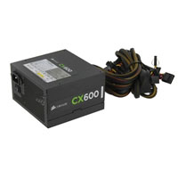 Corsair Builder Series CX600 600 Watt ATX 12V Power Supply Refurbished