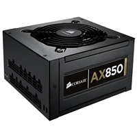 Corsair Professional Series AX850 Watt 80 Plus Gold Modular ATX Power Supply Refurbished