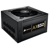Corsair 650 Watt Professional Series Modular Power Supply Refurbished