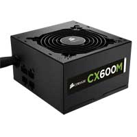Corsair CX Series CX600M 600 Watt ATX Modular Power Supply