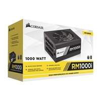 Corsair RM Series 1000 Watt 80 Plus Gold Modular ATX Power Supply