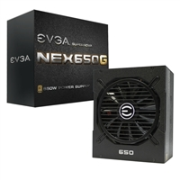 EVGA SuperNOVA 650 Watt 80 Plus Gold Modular ATX Power Supply