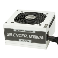PC Power & Cooling Silencer Series 400 Watt 80 Plus Bronze Semi-Modular Active PFC ATX PC Industrial Grade Power Supply