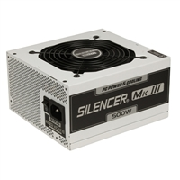 PC Power & Cooling Silencer Series 500 Watt 80 Plus Bronze Semi-Modular Active PFC ATX PC Industrial Grade Power Supply