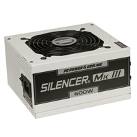 PC Power & Cooling Silencer Series 600 Watt 80 Plus Bronze Semi-Modular Active PFC ATX PC Industrial Grade Power Supply