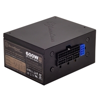 SilverStone SFX-series 600 Watt 80 Plus Gold Modular ATX Power Supply