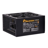 Solid Gear Proton Series 650 Watt 80 Plus Bronze ATX Power Supply