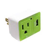 Satechi Compact AC 2-in-1 Surge Protected Charger