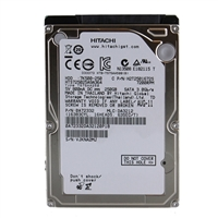 "HGST Travelstar 250GB 7,200 RPM SATA II 3Gb/s 2.5"" Internal Hard Drive OEM OA72332"