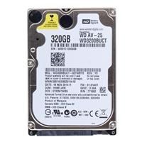 "WD 320GB 5,400 RPM SATA II 3Gb/s 2.5"" Internal Hard Drive WD3200BUCT-FR - Factory Recertified"