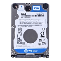 "WD Blue 320GB 5,400 RPM SATA III 6Gb/s 2.5"" Internal Hard Drive WD3200LPVX-FR Factory Recertified"