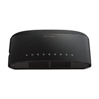 D-Link DES-1008E 200Mbps 8-Port Fast Ethernet Desktop Switch - Factory-Recertified