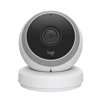 Logitech Portable Home Connection Camera White