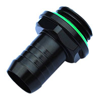 "Bitspower Black G1/4"" Barb Fitting - 3/8"" ID"