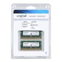 Crucial CT2C8G3S186DM 16GB 2 x 8GB DDR3L-1866 PC3-14900 CL9 SO-DIMM Mac Memory Kit