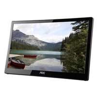 "AOC E1659FWU 15.6"" TN USB Powered Portable LED Monitor"