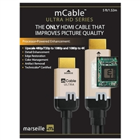 Marseille Inc. 5 ft. Ultra-HD 4K HDMI mCable