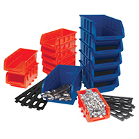Performance Tools Storage Bin Set - 15 Piece
