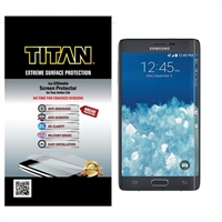 Titan Screen Protectors for Samsung Galaxy Note Edge w/ Extreme Surface Protection