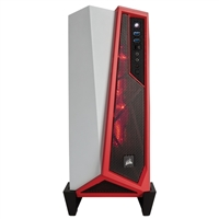 Corsair Carbide SPEC-ALPHA ATX Gaming Case - White/Red