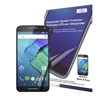 Green Onions Supply Crystal Oleophobic Screen Protector for Motorola Moto X Pure Edition 2-pack