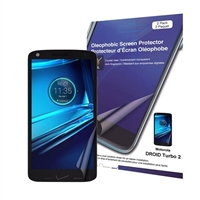 Green Onions Supply Crystal Oleophobic Screen Protector for Motorola Droid Turbo 2-pack