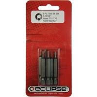 """Eclipse Tools Torx 1-15/16"""" Bit Set - 6 Piece"""