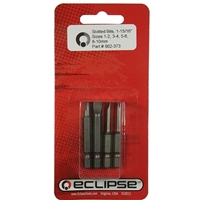 "Eclipse Tools Slotted 1-15/16"" Bit Set - 4 Piece"