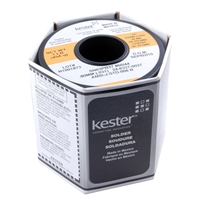 NTE Electronics Kester Rosin Core Solder .031 Diameter 21 Gauge 63/37 Alloy