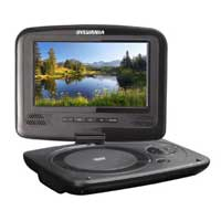 Sylvania 7-Inch Portable DVD Player with Swivel Screen