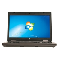 "HP ProBook 6460b Windows 7 Professional 14.0"" Laptop Computer Refurbished - Black"