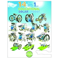 OWI Robotics 14 in 1 Educational Solar Robot Kit